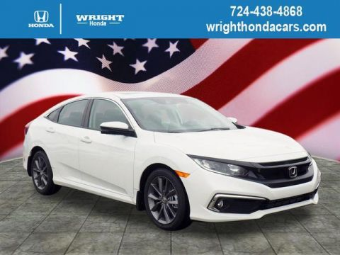 New 2019 Honda Civic EX CVT