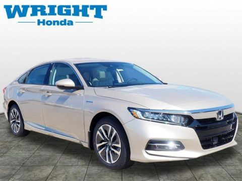 New 2019 Honda Accord Hybrid EX-L Sedan